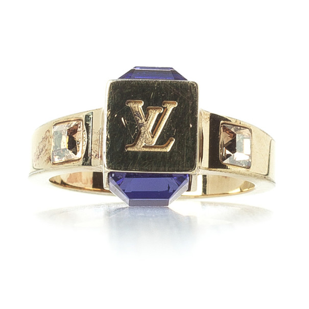 Louis Vuitton Gamble Ring Size 50
