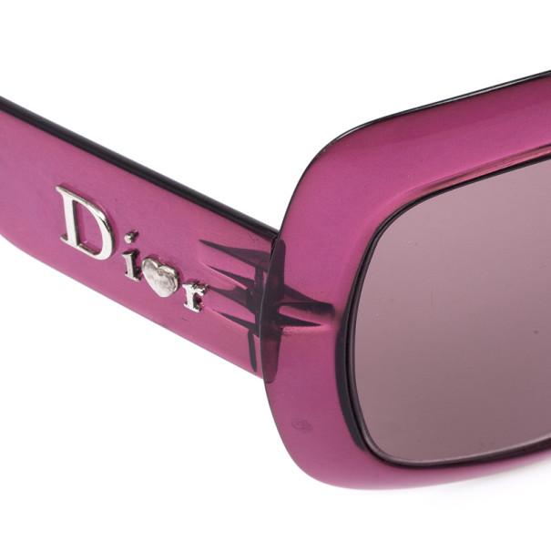 Christian Dior Purple Extralight1 Square Womens Sunglasses