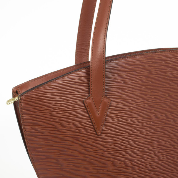 Louis Vuitton Vintage Fawn Epi Saint Jacques GM Bag