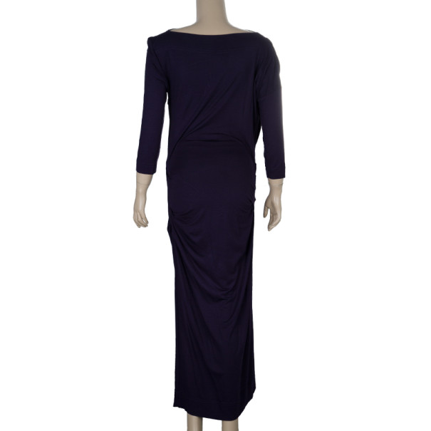 Vivienne Westwood Purple Draped Dress S