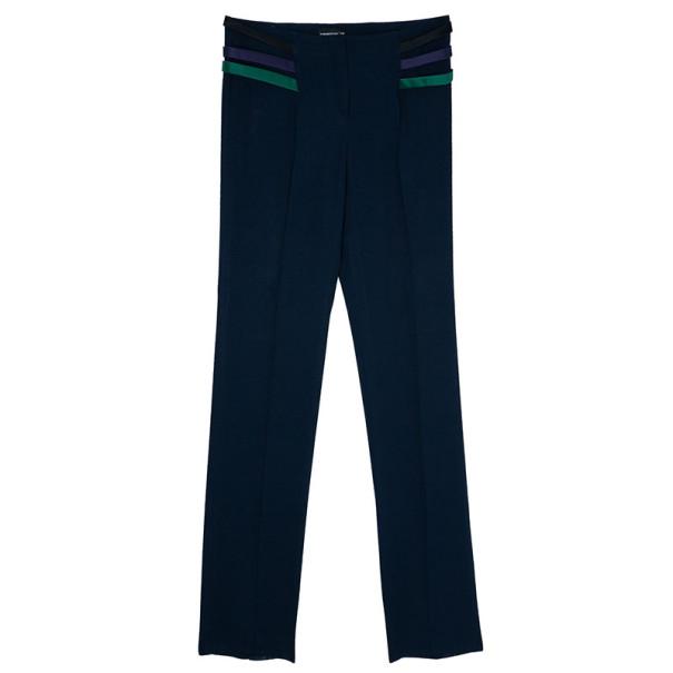 Emporio Armani Navy Velvet Lapel Suit S