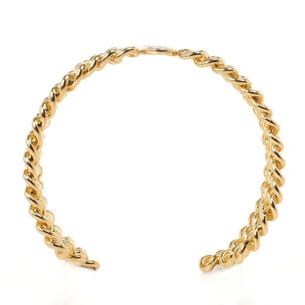 Carolina Herrera Golden Chain Bracelet