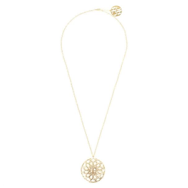 Carolina Herrera Medallion Necklace