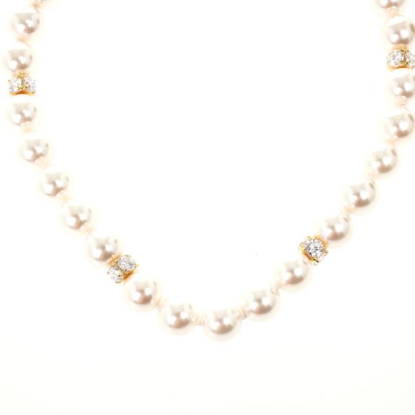 Carolina Herrera Faux Pearl Necklace