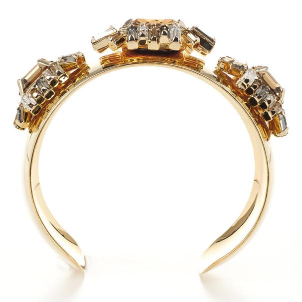 Carolina Herrera Rhinestones Bracelet