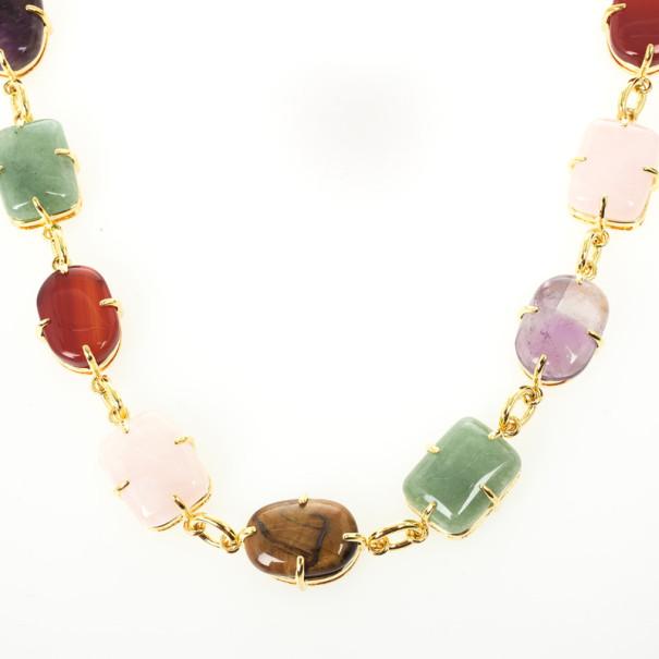 Carolina Herrera Colored Stones Necklace