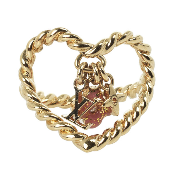 Louis Vuitton Sweet Monogram In My Heart Ring Size 50