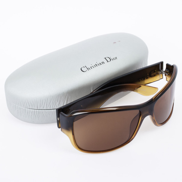 Christian Dior Brown Latina Girl 5 Shield Women Sunglasses