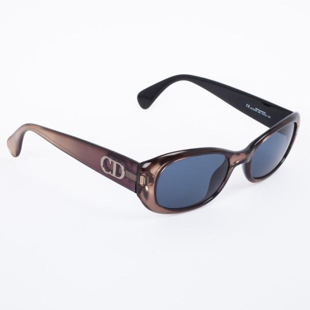 Christian Dior Brown & Gold Katia Women Sunglasses