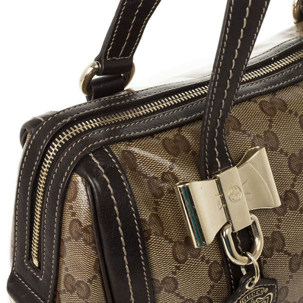 Gucci Duchessa Medium Boston Satchel Handbag