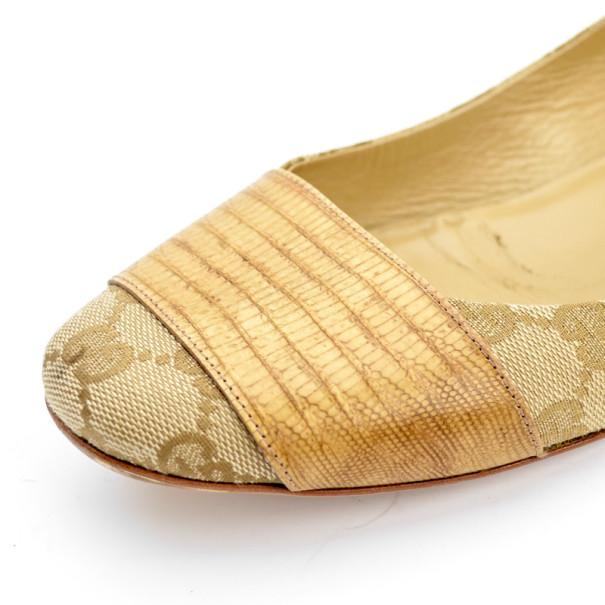 Gucci Guccissima Ballet Flats Size 39.5