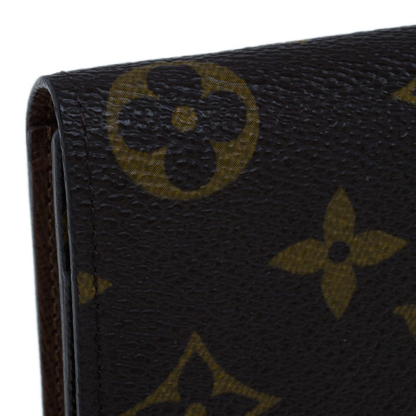 Louis Vuitton Monogram Canvas Continental Wallet