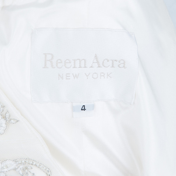 Reem Acra Gown Like No Other Wedding Dress M