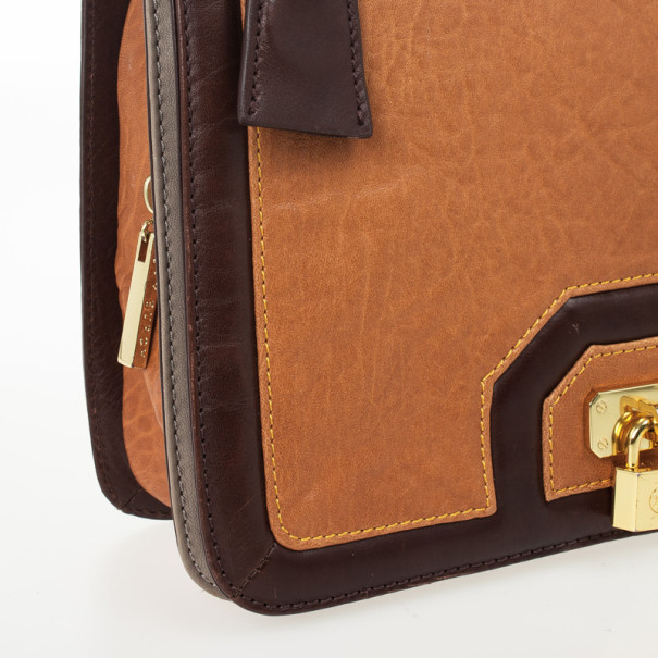 Tory Burch Brown Bond Shoulder Bag