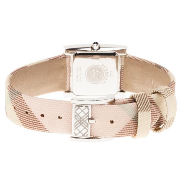 Burberry White Stainless Steel BU4311 Women's Wristwatch 24MM