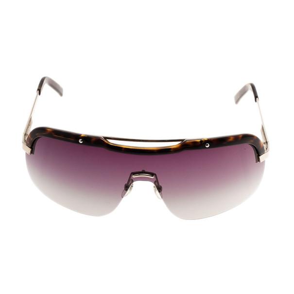 Gucci Brown GG 1859 Unisex Shield Sunglasses