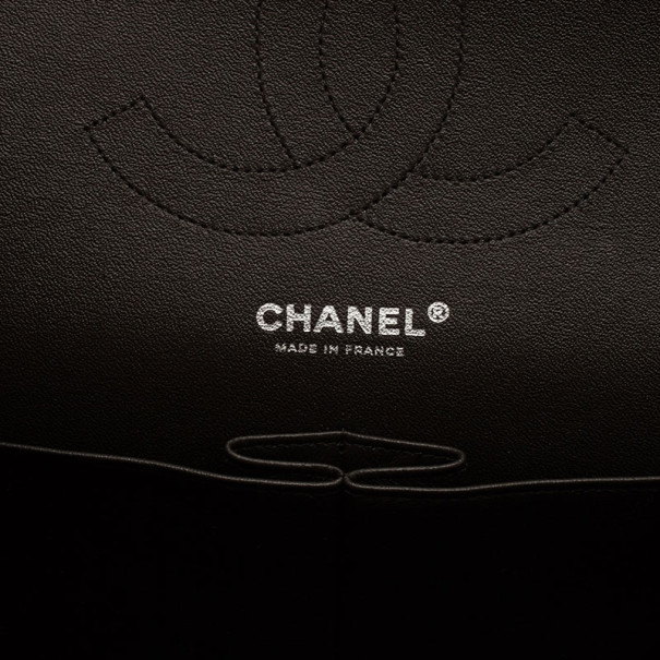 Chanel Tricolor Leather Paris Edinburgh Double Flap Bag