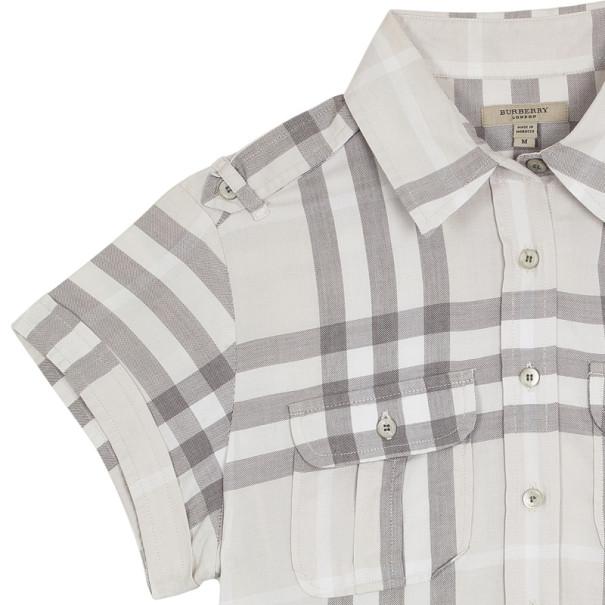 Burberry Button Up Shirt Top M