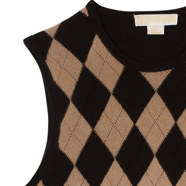 Micheal Kors Cashmere Knit Pull Over L
