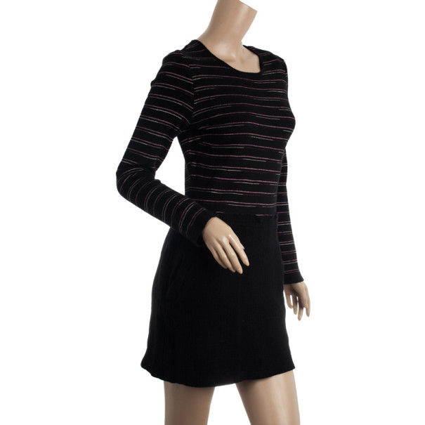 Missoni Straight Knitted Wool Dress L