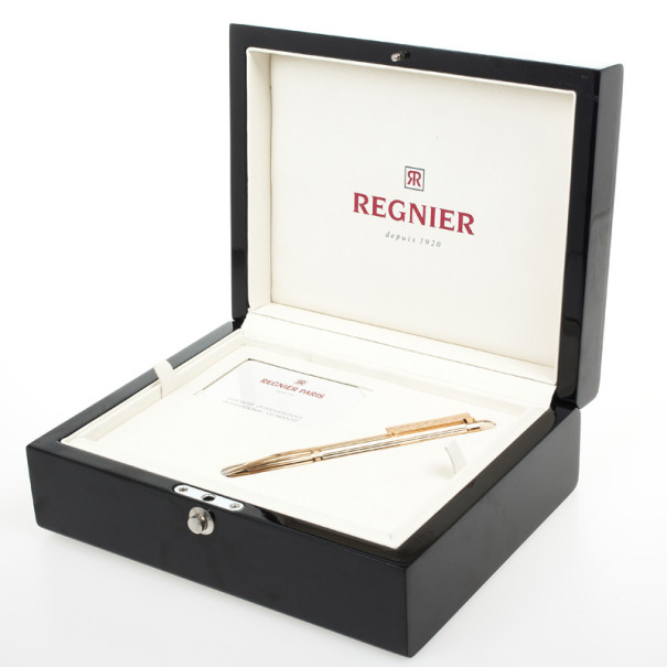 Regnier Steel Plated Gold Tone Pen
