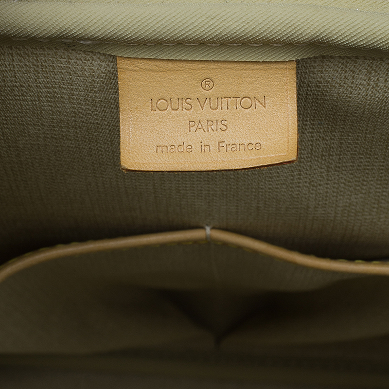 Louis Vuitton Monogram Canvas Deauville Bag