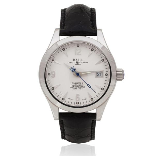 Ball Engineer II SS Leather Unisex Wristwatch 38 MM