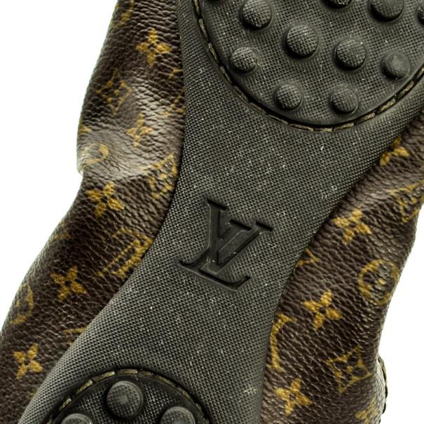 Louis Vuitton Monogram Canvas Lovely Ballet Flats Size 41