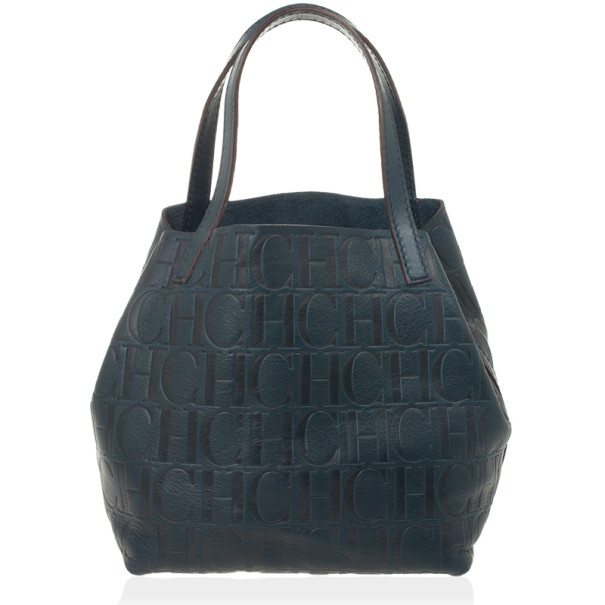 Carolina Herrera Blue Mini Matryoshka Tote