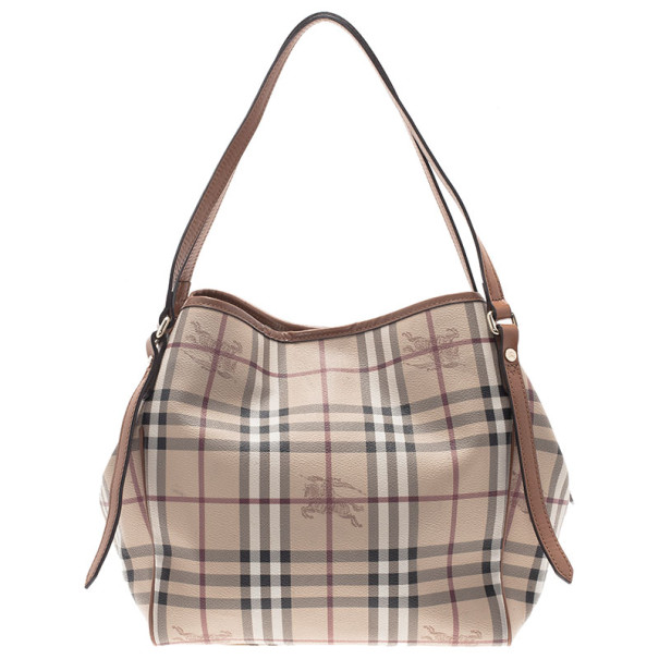 Burberry Haymarket Check Small Canter