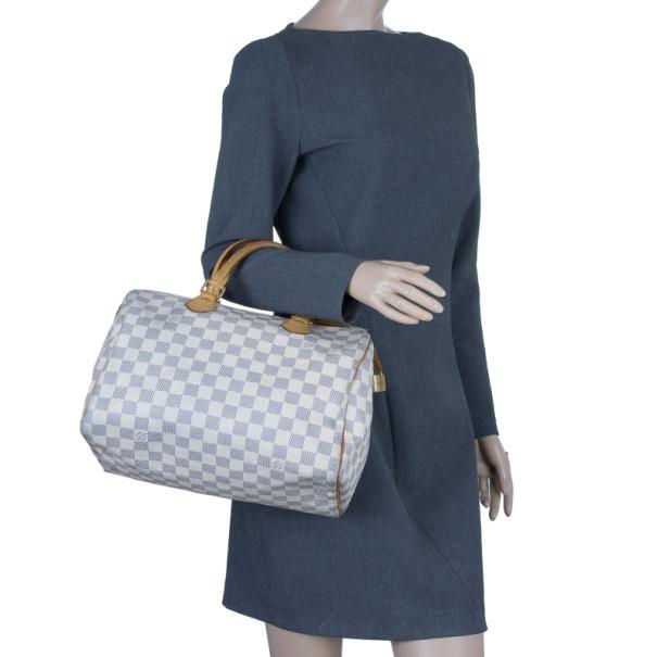 Louis Vuitton Damier Azur Speedy 30
