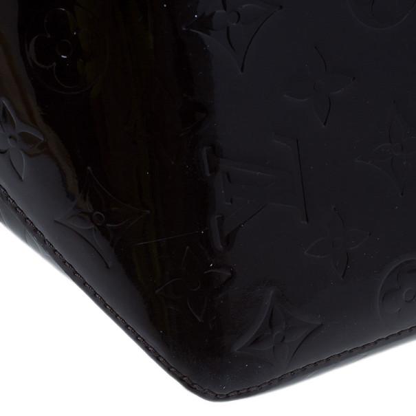 Louis Vuitton Amarante Monogram Vernis Bellevue GM