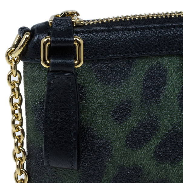 Dolce and Gabbana Animal Print Crossbody