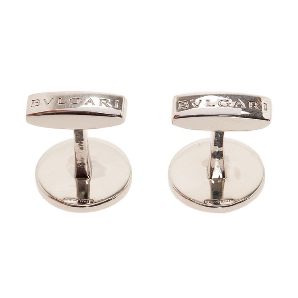 Bvlgari Silver Bulgari Cufflinks