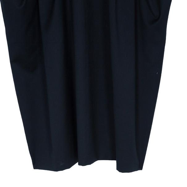 Kenzo Black Wrap Front Dress L