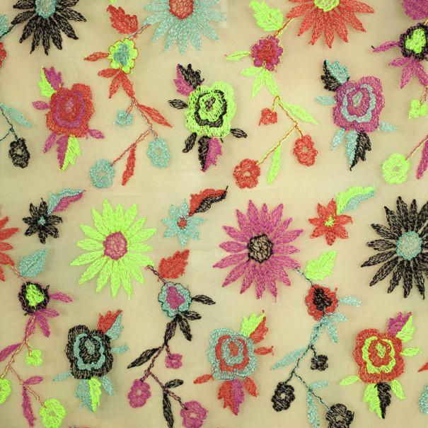 Christian Lacroix Vintage Bazaar Net Multicolored Skirt M