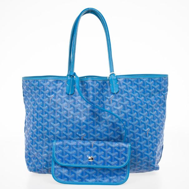 Goyard Light Blue Saint Louis PM Bag