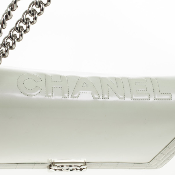 Chanel Large Quilted Boy Flap Bag