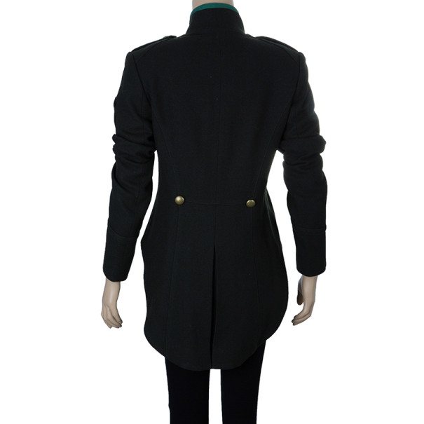 McQ by Alexander McQueen Military Style Tailcoat M