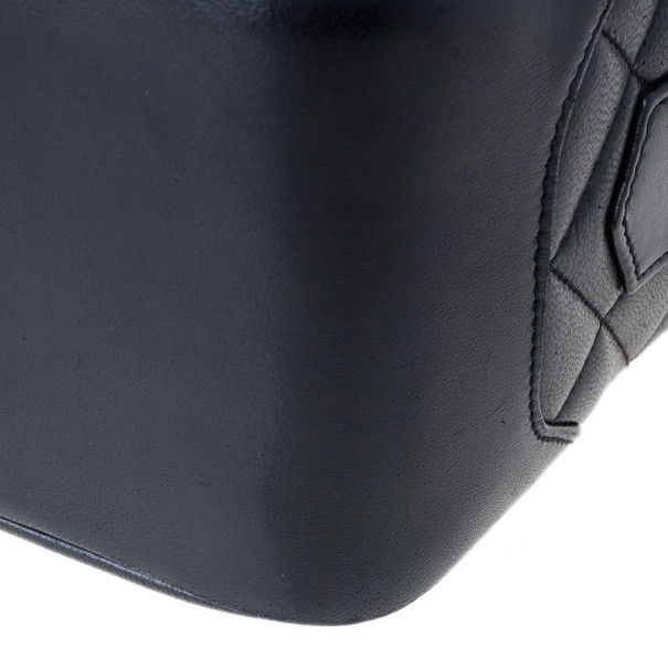 Chanel Black Lambskin Camera Bag