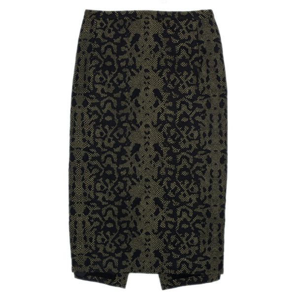 Gucci Jacquard Pencil Skirt L