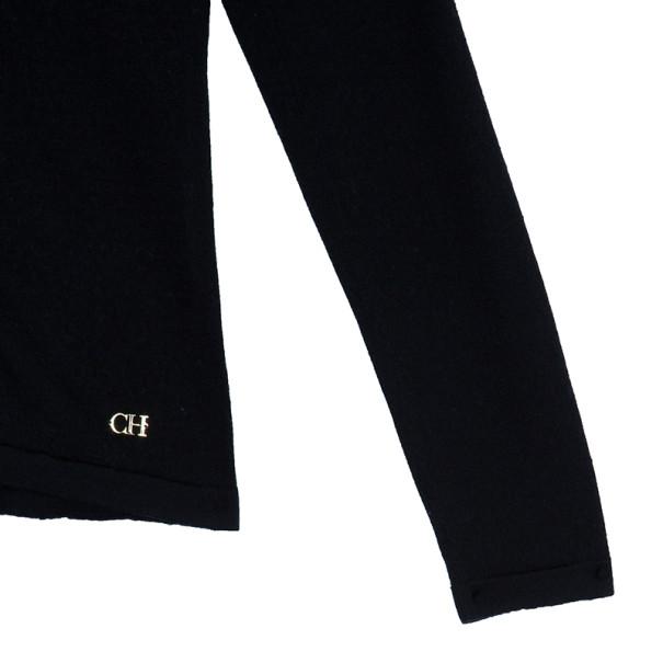 CH Carolina Herrera Black Cardigan S
