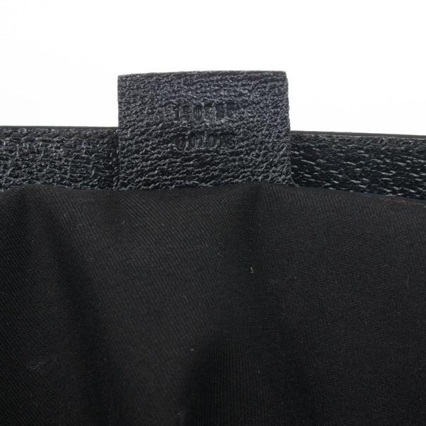 Gucci Black Monogram Treasure Boston Bag