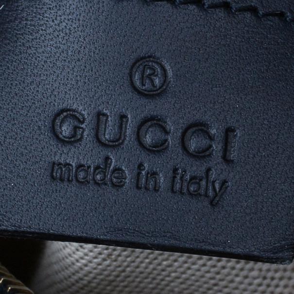 Gucci GG canvas Web Detail Boston Bag