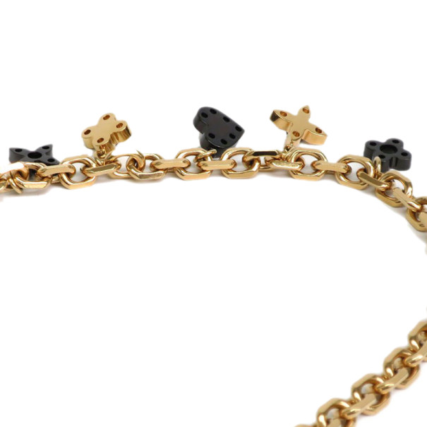 Louis Vuitton Hide and Seek Blackmoon Necklace
