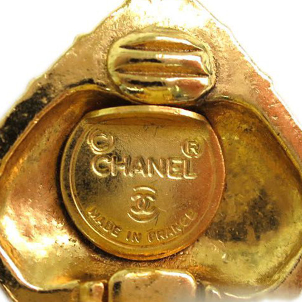 Chanel Vintage Mademoiselle Earrings