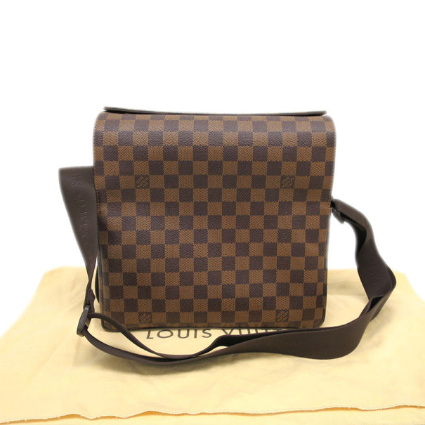Louis Vuitton Damier Ebene Naviglio Shoulder Bag