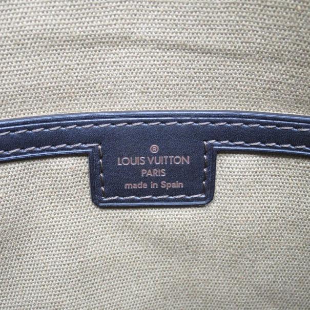 Louis Vuitton Utah Cafe Sac Plat Leather Messenger Bag MM