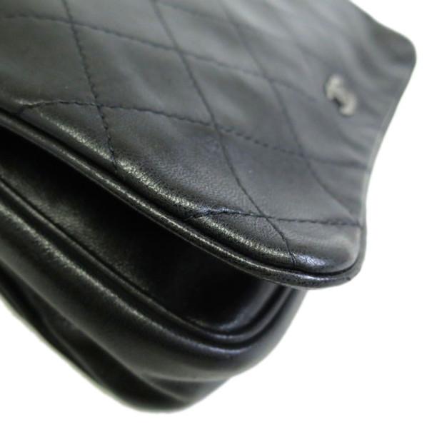 Chanel Black Lambskin Wallet on Chain WOC Shoulder Bag