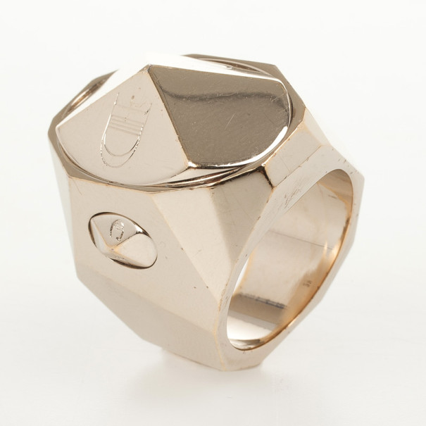 Christian Dior Gold Plated Ring Size 52